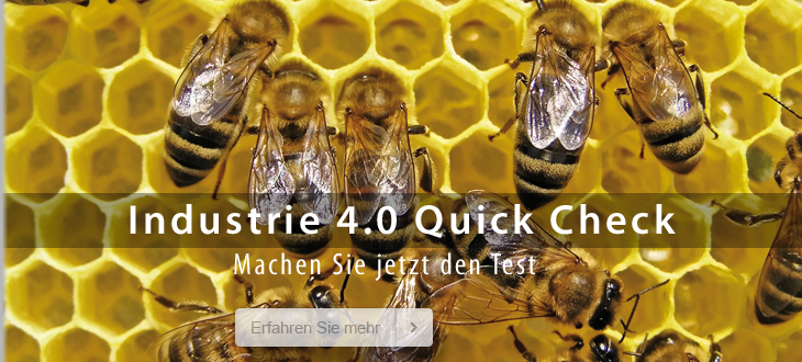 Industrie 4.0 Quick Check Header